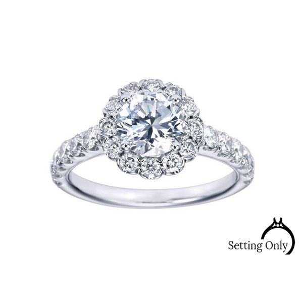 Rosalyn Engagement Ring by Gabriel & Co Stambaugh Jewelers Defiance, OH