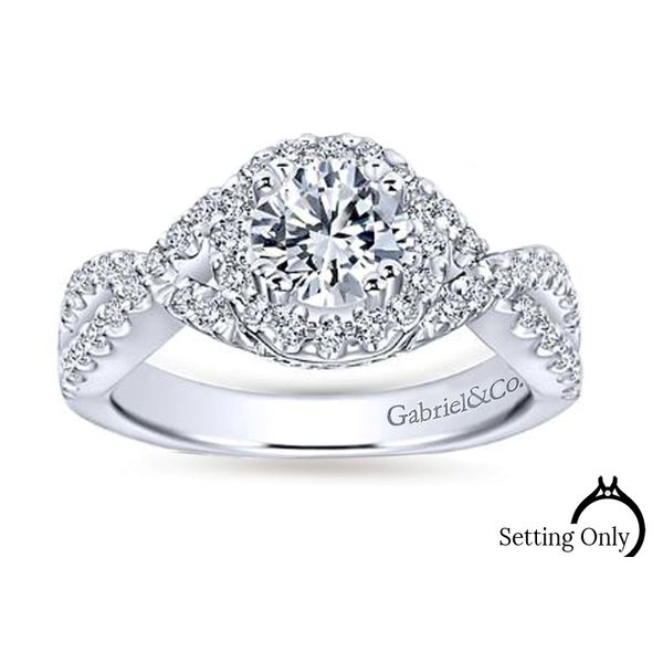 Kendie Engagment Ring by Gabriel & Co. Stambaugh Jewelers Defiance, OH