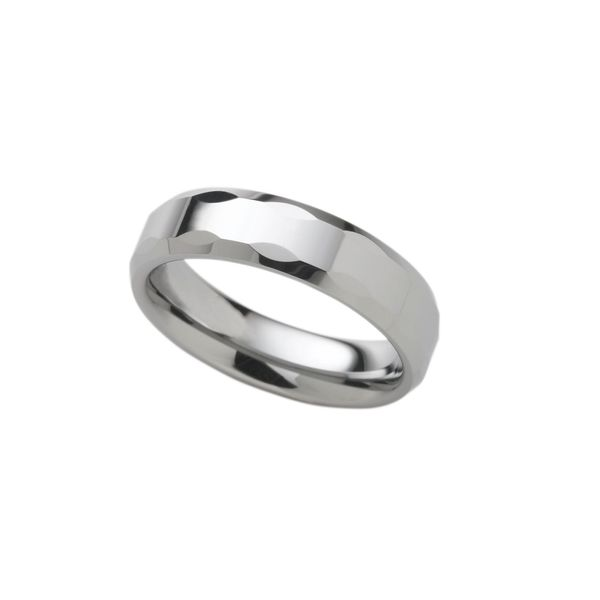 Men's Contemporary Metal Wedding Band Stambaugh Jewelers Defiance, OH