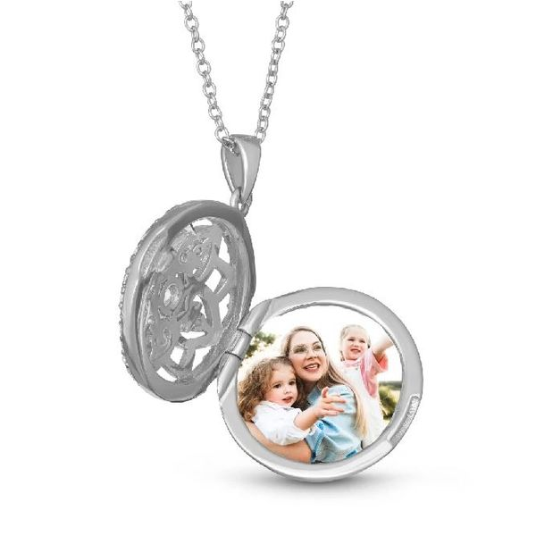 Sterling Silver Locket Image 2 Stambaugh Jewelers Defiance, OH