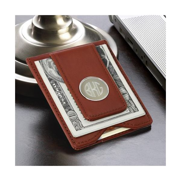 Magnetic Money Clip Wallet Engravable  Stambaugh Jewelers Defiance, OH