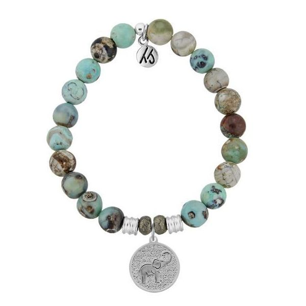 T. Jazelle Silver and Gemstone Bracelet Stambaugh Jewelers Defiance, OH