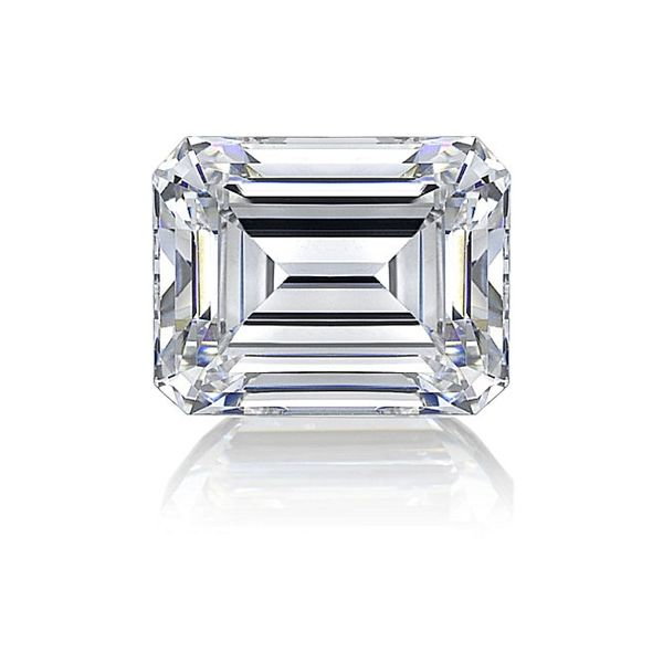 Emerald Cut Moissanite, 1.80 ct Image 2 SVS Fine Jewelry Oceanside, NY