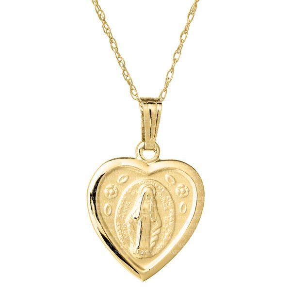 Kiddie Kraft 14K Yellow Gold Medal Image 2  ,