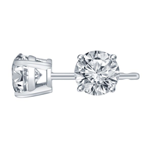SVS Signature 101© 14K White Gold Diamond Studs SVS Fine Jewelry Oceanside, NY