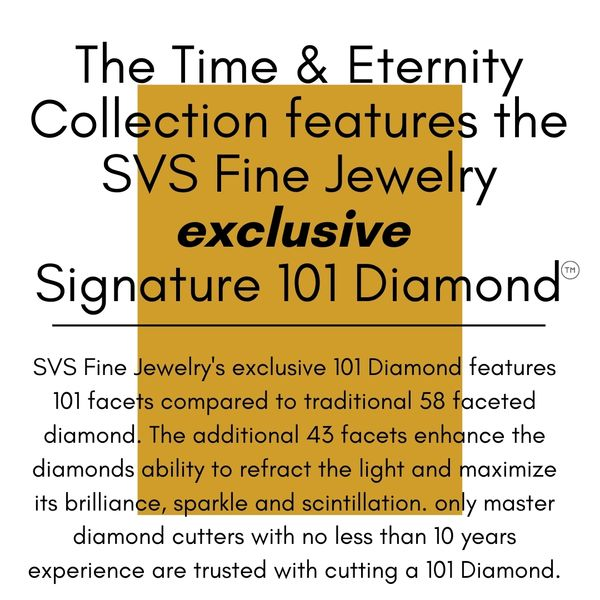 SVS Signature 101© Time and Eternity Studs, .30ctw Image 2 SVS Fine Jewelry Oceanside, NY