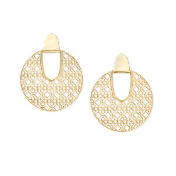 ec509dbf62148 Kendra Scott Diane Gold Statement Earrings