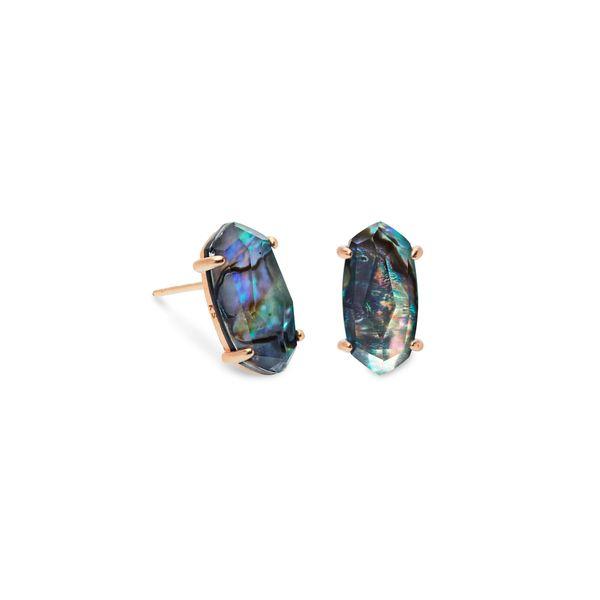 82df39a71b504 Kendra Scott Betty Rose Gold Stud Earrings