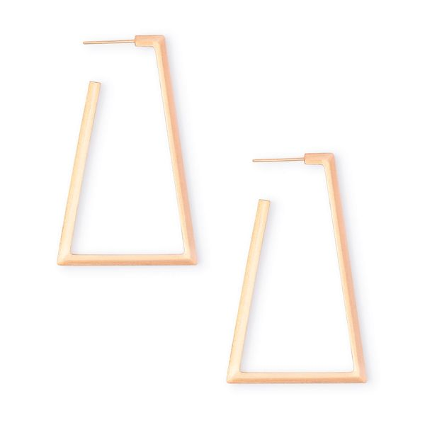 Kendra Scott Easton Hoop Earrings In Rose Gold SVS Fine Jewelry Oceanside, NY