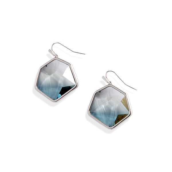 Kendra Scott Vanessa Silver Drop Earrings In Gray Ombre SVS Fine Jewelry Oceanside, NY