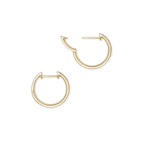 Kendra Scott Jack Gold Hoop Earrings In Jewel Tone Image 2 SVS Fine Jewelry Oceanside, NY