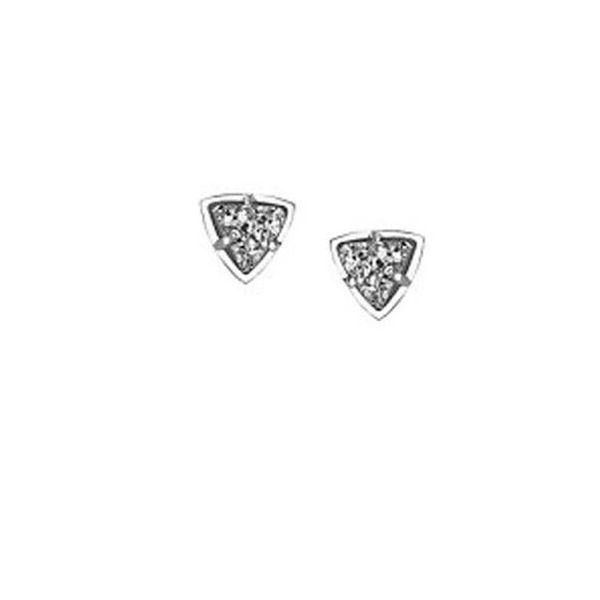 Kendra Scott Perry Silver And Steel Gray Drusy Studs SVS Fine Jewelry Oceanside, NY
