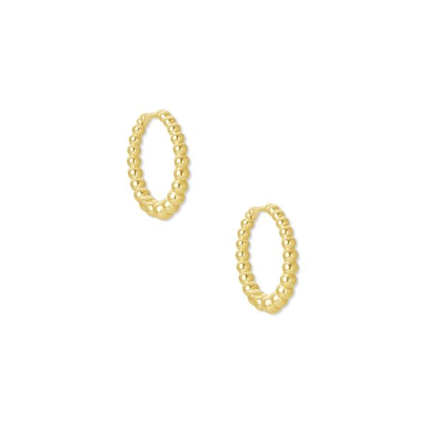 Kendra Scott Josie Gold Huggie Earrings SVS Fine Jewelry Oceanside, NY