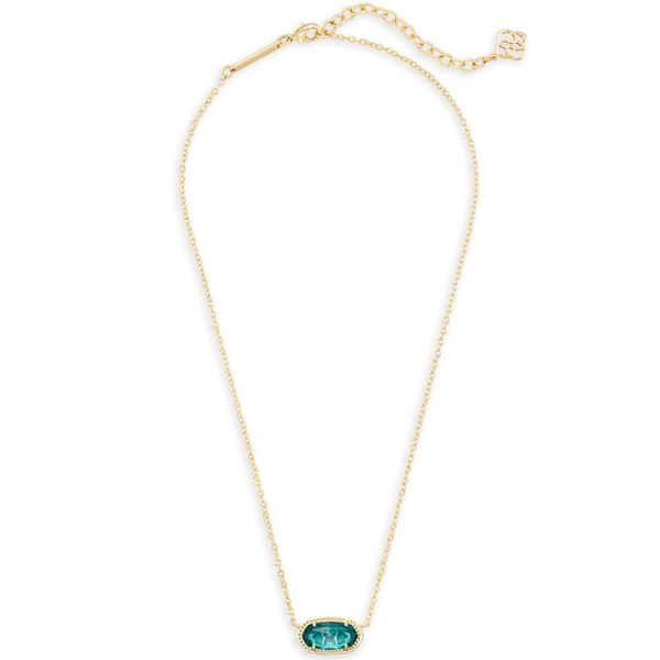 Kendra Scott Elisa Gold Pendant Necklace Image 2 SVS Fine Jewelry Oceanside, NY