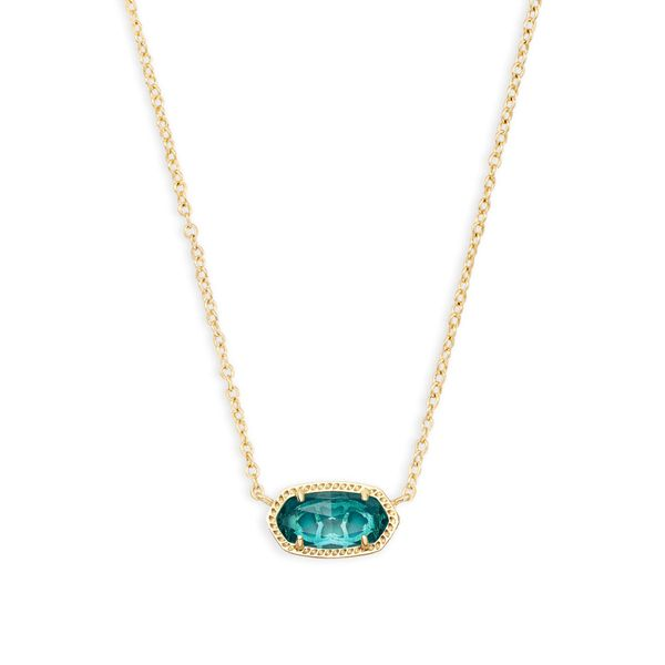 Kendra Scott Elisa Gold Pendant Necklace SVS Fine Jewelry Oceanside, NY