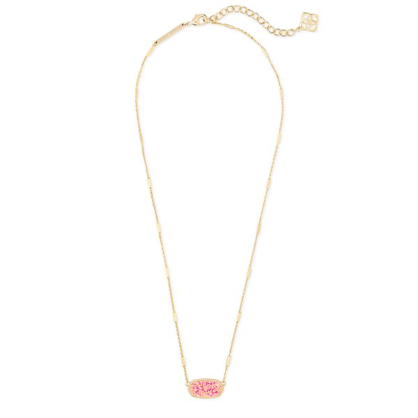 Kendra Scott Miley Gold Pendant Necklace Image 2 SVS Fine Jewelry Oceanside, NY