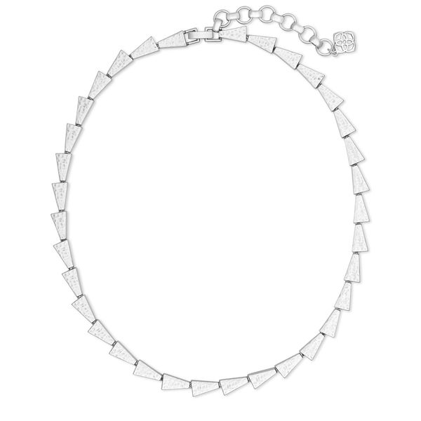 Kendra Scott Leon Bright Silver Collar Necklace SVS Fine Jewelry Oceanside, NY