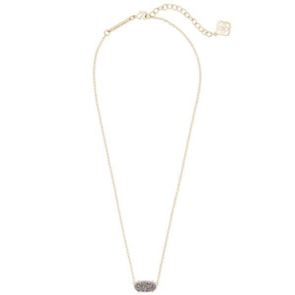 Kendra Scott Ever Gold Pendant Necklace Image 2 SVS Fine Jewelry Oceanside, NY