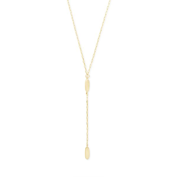 Kendra Scott Fern Gold Y Necklace SVS Fine Jewelry Oceanside, NY
