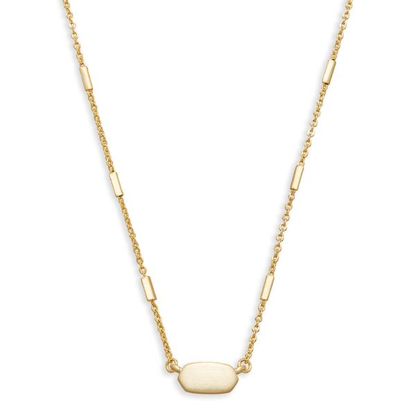 Kendra Scott Fern Pendant Necklace in Gold SVS Fine Jewelry Oceanside, NY