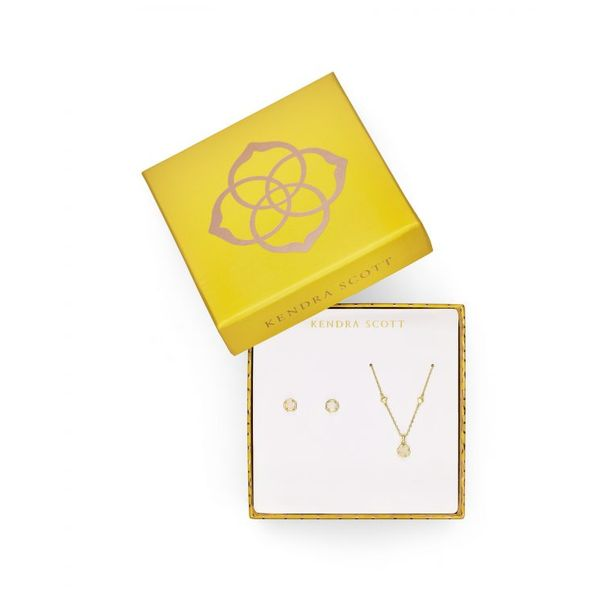 Kendra Scott Nola Necklace & Earrings Gift Set SVS Fine Jewelry Oceanside, NY
