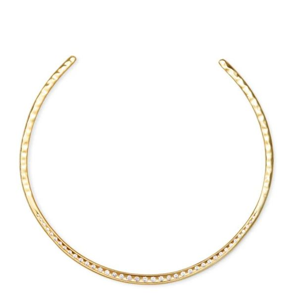 Kendra Scott Selena Gold Collar Necklace SVS Fine Jewelry Oceanside, NY