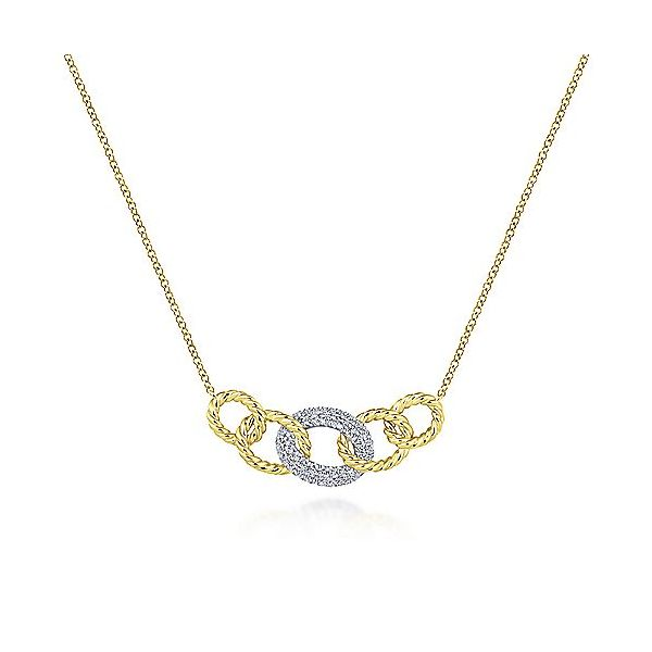 Gabriel & Co. Diamond Necklace SVS Fine Jewelry Oceanside, NY