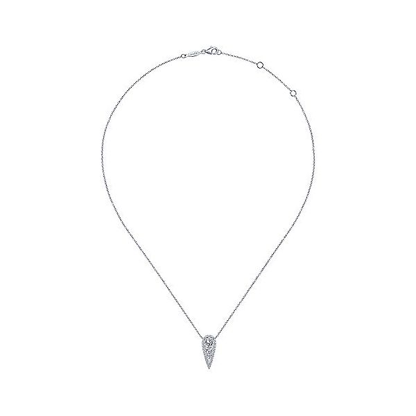 Gabriel & Co. Lusso Diamond Necklace Image 2  ,
