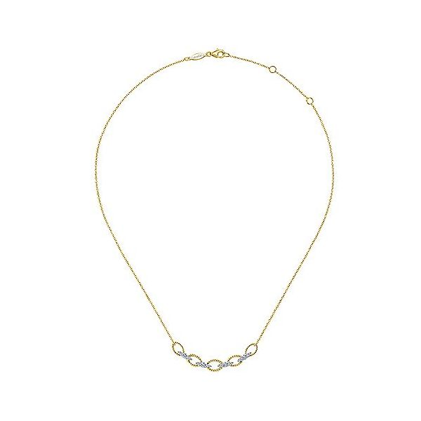 806d521ba6138 Gabriel & Co. Hampton Diamond Necklace