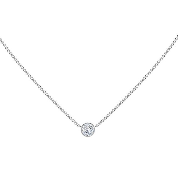Forevermark Tribute Collection Diamond Necklace SVS Fine Jewelry Oceanside, NY