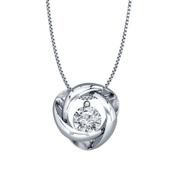 SVS Signature 101© Sterling Silver Time and Eternity Necklace SVS Fine Jewelry Oceanside, NY