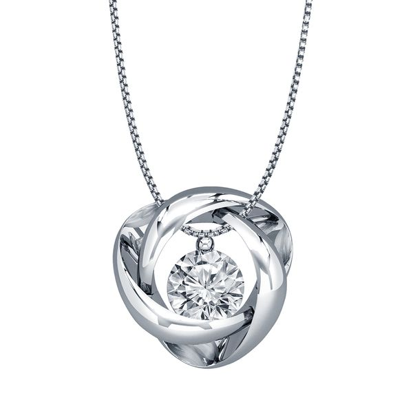 SVS Signature 101© White Gold Time & Eternity Necklace SVS Fine Jewelry Oceanside, NY