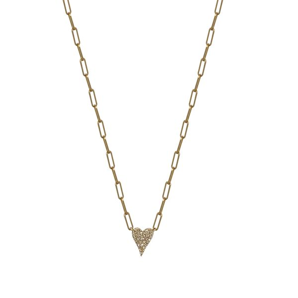 SVS Fine Collection 14K Yellow Gold And Diamond Necklace SVS Fine Jewelry Oceanside, NY