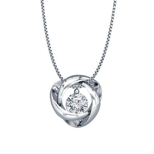 SVS Signature 101© Silver Time and Eternity Necklace SVS Fine Jewelry Oceanside, NY