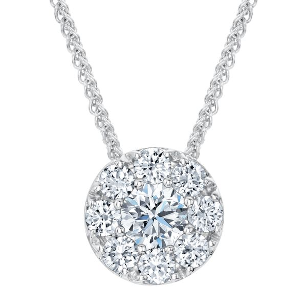 Forevermark 'Center Of My Universe' White Gold Pendant SVS Fine Jewelry Oceanside, NY