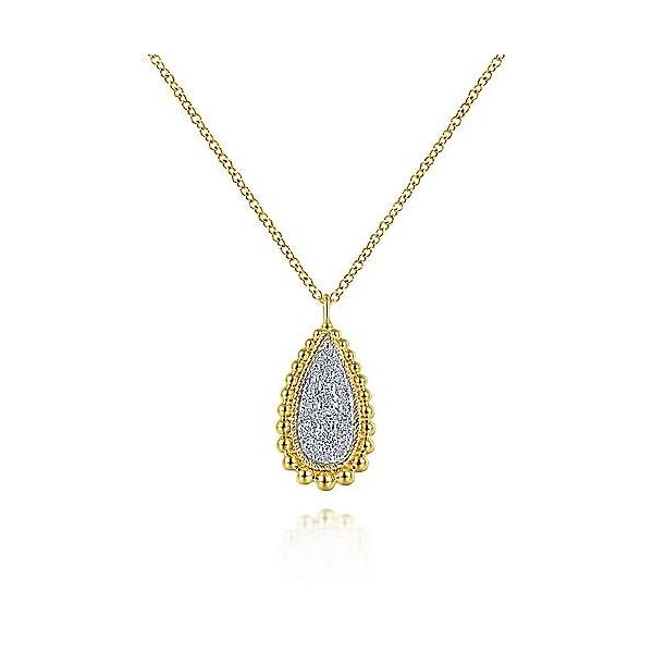Gabriel & Co. Bujukan 14K Yellow Gold Necklace SVS Fine Jewelry Oceanside, NY