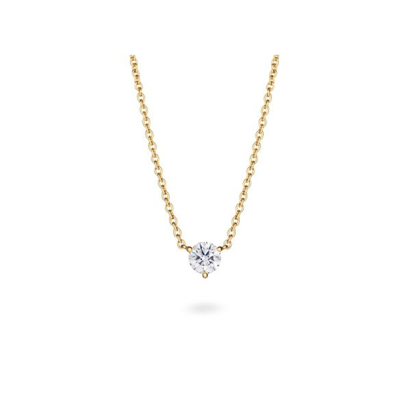 Lightbox Lab Grown Round Diamond Solitaire Necklace, .50ctw SVS Fine Jewelry Oceanside, NY
