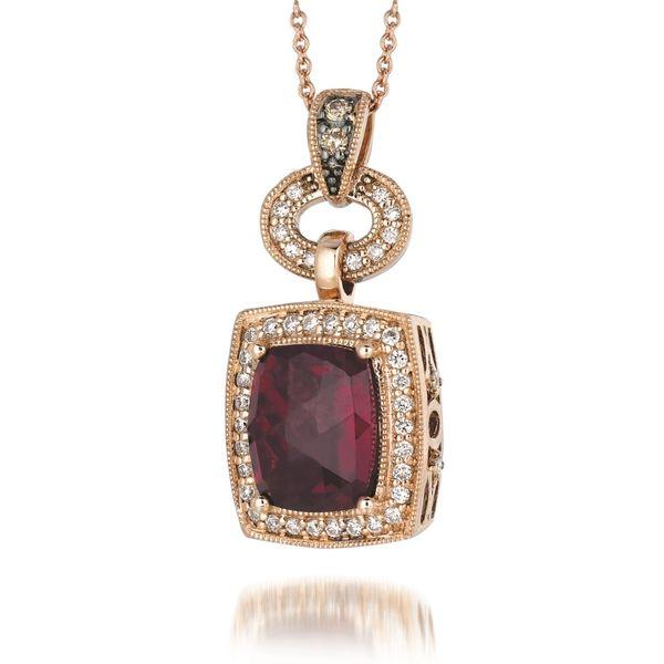 0f1fb2b4b7e05 Le Vian Gold, Garnet, & Diamond Necklace