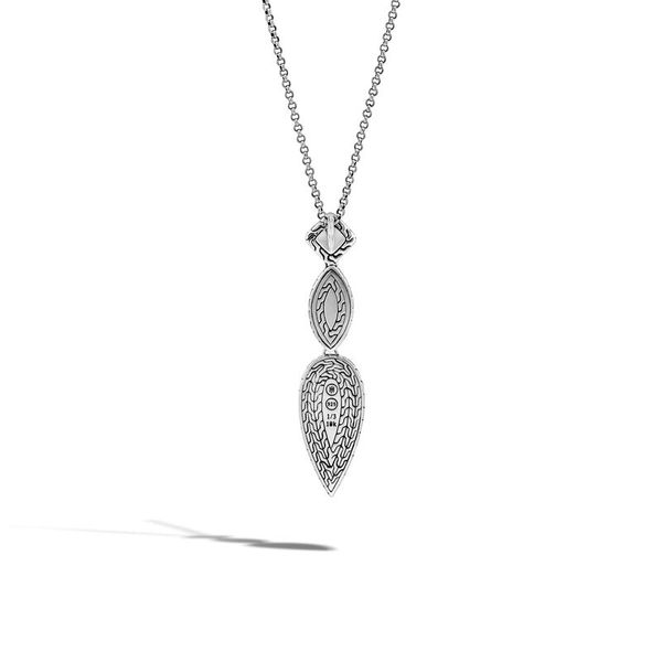 John Hardy Chain Collection Silver Necklace Image 2 SVS Fine Jewelry Oceanside, NY