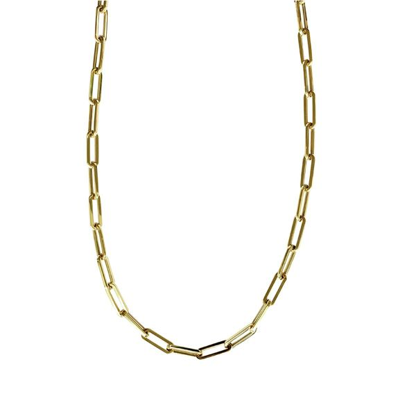 SVS Fine Collection 14K Yellow Gold Thick Paperclip Chain SVS Fine Jewelry Oceanside, NY
