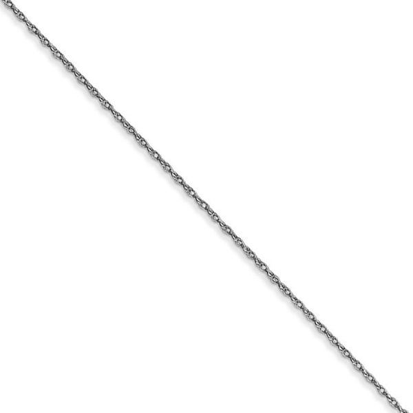 14K White Gold Carded Cable Rope Chain SVS Fine Jewelry Oceanside, NY
