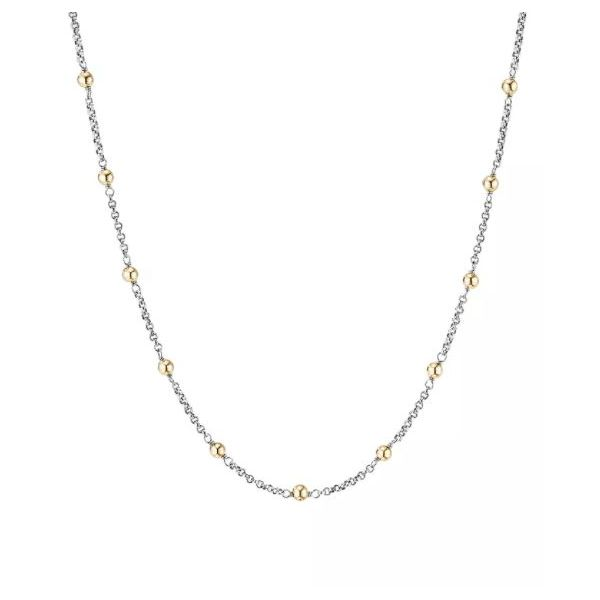 14K White And Yellow Gold Satellite Chain SVS Fine Jewelry Oceanside, NY