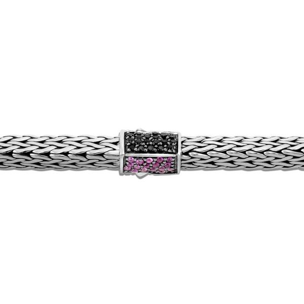 John Hardy Chain Collection Silver Tiga Chain Bracelet Image 2 SVS Fine Jewelry Oceanside, NY