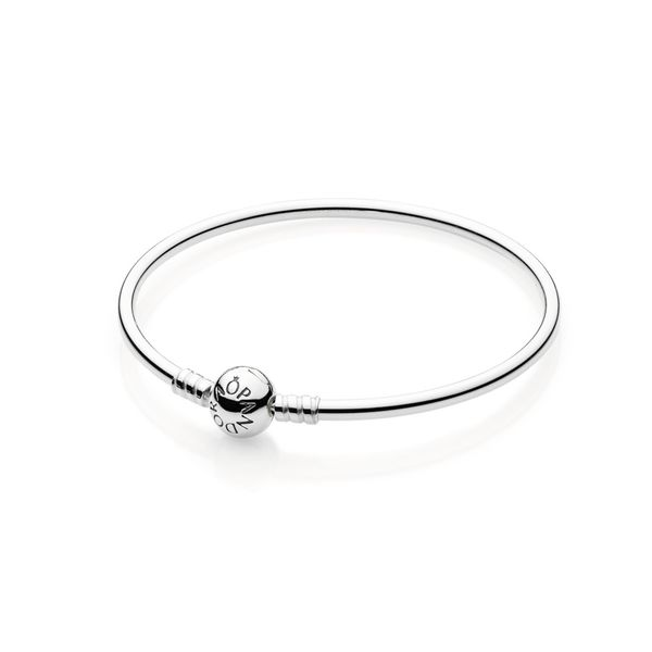 Pandora Icons Collection Sterling Silver Bangle SVS Fine Jewelry Oceanside, NY