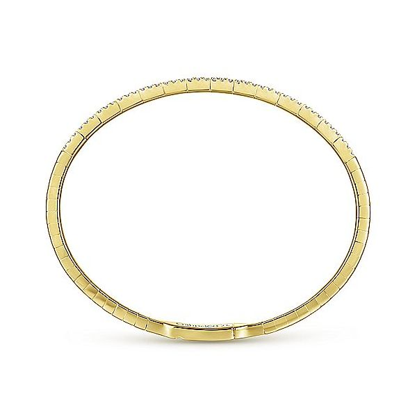 Gabriel & Co. Demure Diamond Fashion Bangle, .73cttw Image 3  ,