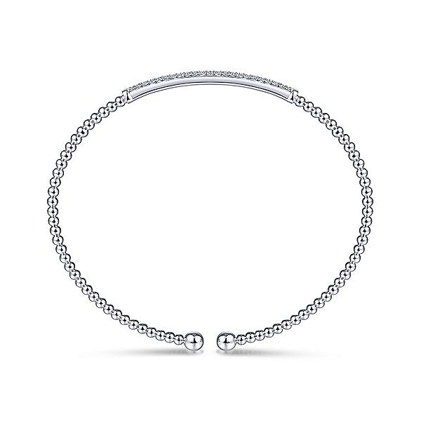 Gabriel & Co. Diamond Fashion Bangle Image 3 SVS Fine Jewelry Oceanside, NY