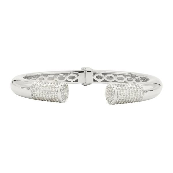 Freida Rothman Radiance Pave Cuff SVS Fine Jewelry Oceanside, NY