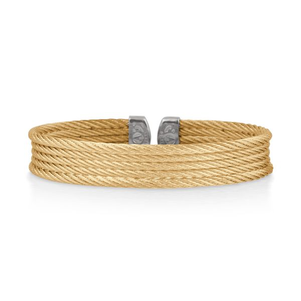 ALOR Classique Collection Yellow Cable Bangle SVS Fine Jewelry Oceanside, NY