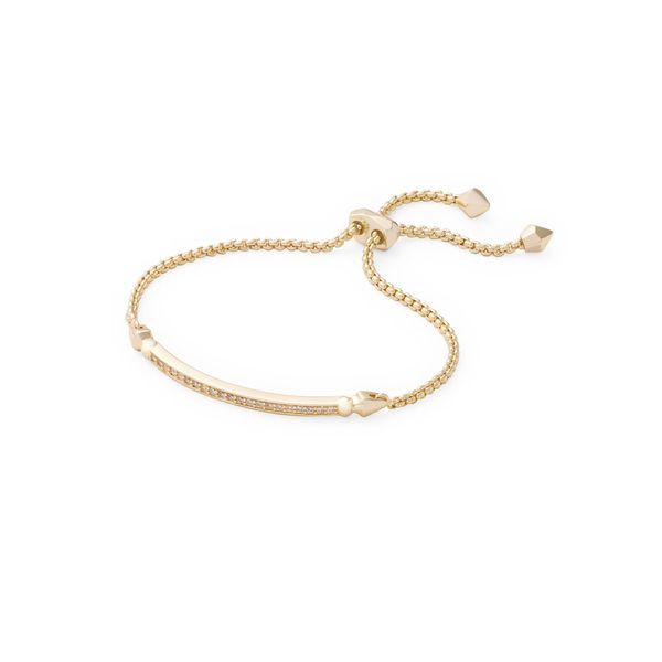 Kendra Scott Ott Adjustable Chain Bracelet in Gold SVS Fine Jewelry Oceanside, NY