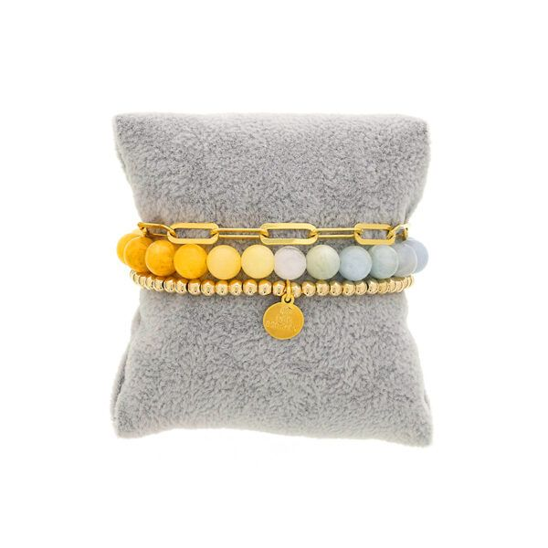Dee Berkley Yellow To Blue Ombre Stack SVS Fine Jewelry Oceanside, NY